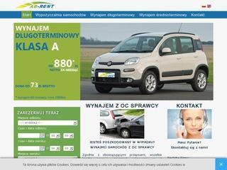 Wynajem samochodów – dojazd na lotnisko – oferta