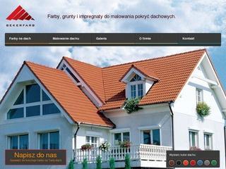 Renowacja dachu za pomocą specjalnej farby