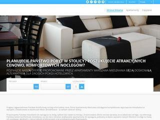 Luksusowe apartamenty w Warszawie – noclegi